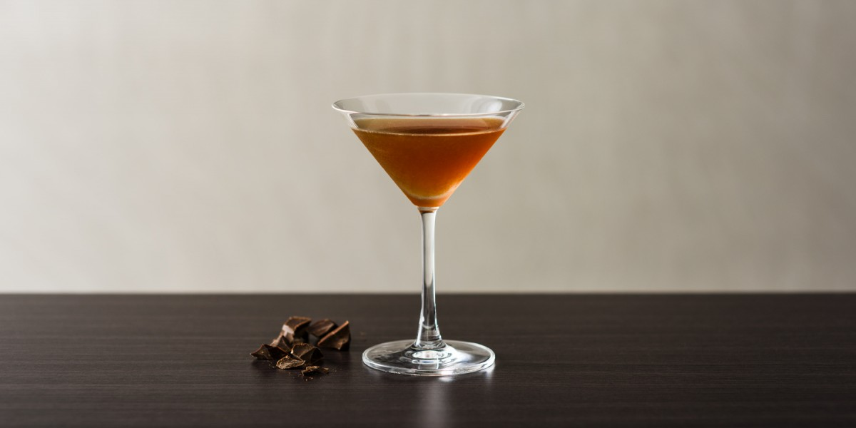 Dark Chocolate Orange Martini